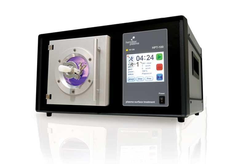 henniker plasma treatment tem sample plasma cleaner